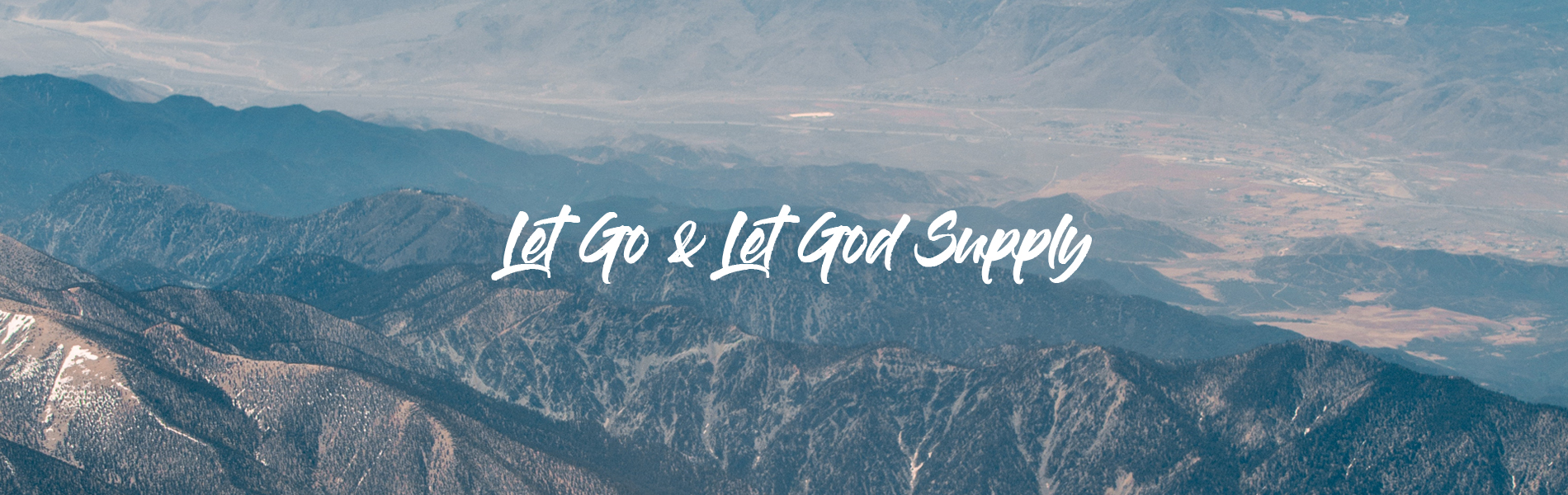 11-Nov_Let-Go--Let-God-Supply New Creation TV | Broadcasting the Gospel of Jesus