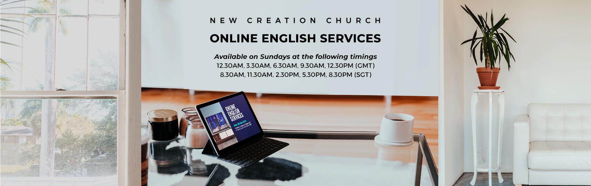 Online_church_31082020 New Creation TV | Broadcasting the Gospel of Jesus